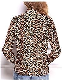 Amazon.es  Blusas De Leopardo  Ropa c040a052651