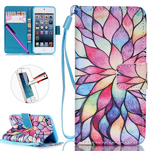ipod-touch-5-caseipod-touch-6-casenewstars-touch-6-touch-5-wallet-case-cover-kickstand-flip-casecred