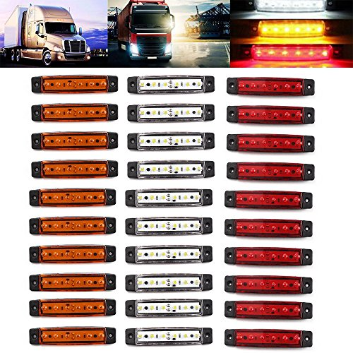 In Style; Purposeful 1pcs Car Motorcycle 17 Led Strip Light Tail Turn Signal Indicator Amber/white Fashionable
