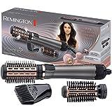 Remington Brosse à Cheveux Rotative Soufflante Chauffante Volume Keratin Protect, Soin Kératine et Huile d'Amande - AS8810