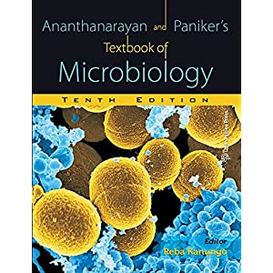 Ananthanarayan and Paniker's Textbook of Microbiology Tenth edition with booklet