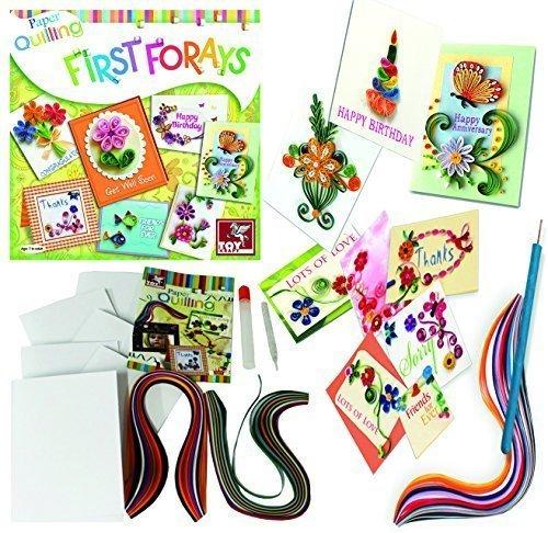 Paper Quilling DIY Craft Card Making Kit Arts U0026 Craft Stocking Filler  Birthday Christmas Ideas