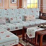 MEILI Narcissus Stoff, Sofa-Sitzkissen mit L Form, 90 * 180