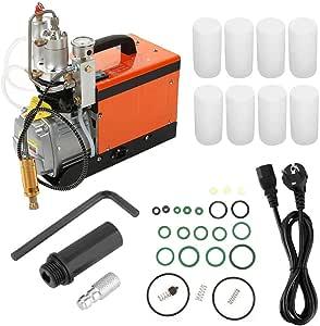 Hochdruck Luftkompressor 220v Kompressor 30mpa 4500psi Hochdruckkompressor Hochdruckluftpumpe Elektrische Luftpumpe Eu Plug Baumarkt