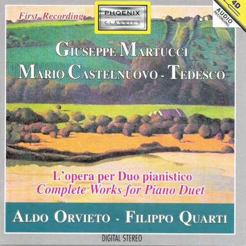 Mario Castelnuovo-Tedesco: Duo pianism improviso per due pianoforti sul nome