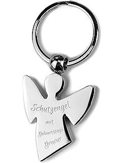 Schlüsselanhänger Schutzengel Glücksbringer Schön das es Dich gibt!