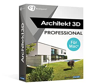 architekt 3d x9 professional mac software. Black Bedroom Furniture Sets. Home Design Ideas