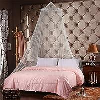 Moustiquaire Ciel de Lit Dome Rond Gaze Princesse Bed Insectes Lit Couverture Moustiquaire de Voyage Anti-Moustique Pour la Maison ou les Vacances