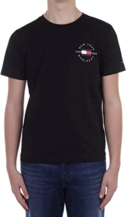 Tommy Hilfiger Men's Circle Chest Corp Tee T-Shirt