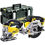 DeWALT 18V XR sans fil Dcs331Scie sauteuse + Scie circulaire Dcs391Corps + DS300Coque