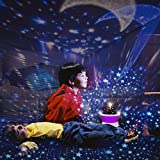 3-12 Year Old Girl Christmas Gifts,  CYMY Star Projector Night Lighting for Kids 3-12 Year Old Boy Christmas Gifts Toys for 3-12 Year Old Boys Girl Birthday Present Babies Bedroom Lights