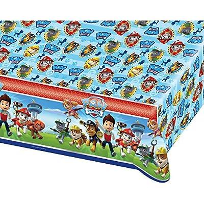 Patrulla Canina Mantel, Multicolor, 30 x 1 x 18 cm Amscan Inc 68999136 por Amscan Inc