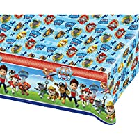 Amscan International 1,2 x 1,8 m Paw Patrol Kunststoff tablecoversp