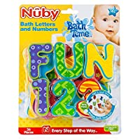 Foam Bath Letters From Nuby Guaranteed Bathtime Fun Age 3yrs+ (36 pieces)