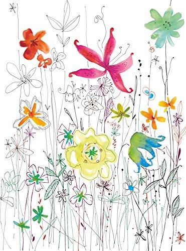 komar-poster-xxl-2-022-184-x-248-cm-motivo-floreale-con-fantasia-carta-da-parati-murale-multicolore-