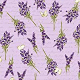 Clothworks Lavendel-Stoff, Lavendel-Zweige, 0,5 m, süßer