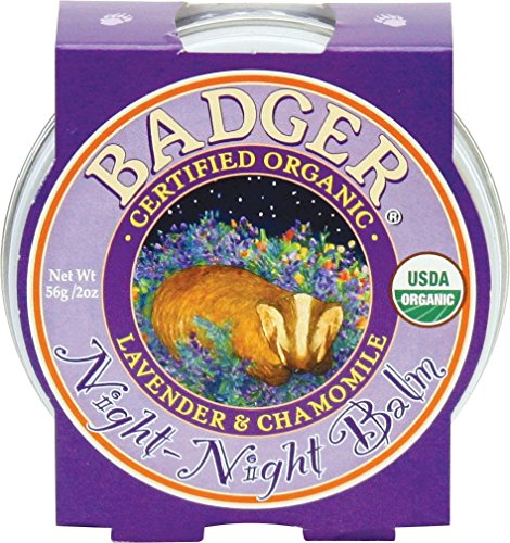 Badger Night Balm - Gute Nacht Balsam, 1er Pack (1 x 56 g)