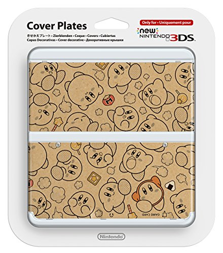 Kirby-cover (New Nintendo 3ds Cover Plates No.058 Kirby's Dream Land Only for Nintendo New 3DS Japan Import)