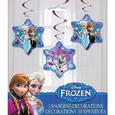 Disney Frozen 3 Hanging Decorations de Disney Frozen