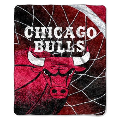 Northwest NBA Chicago Bulls Reflect Sherpa Überwurf Decke, 50x 152,4cm