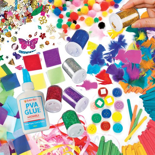 collage-craft-super-value-pack-save-21-when-bought-in-pack-includes-500-mini-pom-poms-200-coloured-w