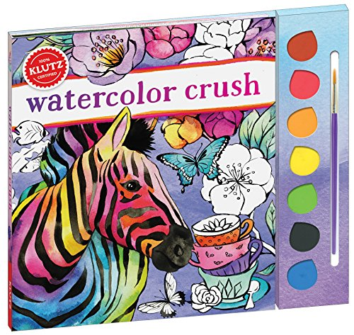 Watercolor Crush (Klutz) por Editors of Klutz