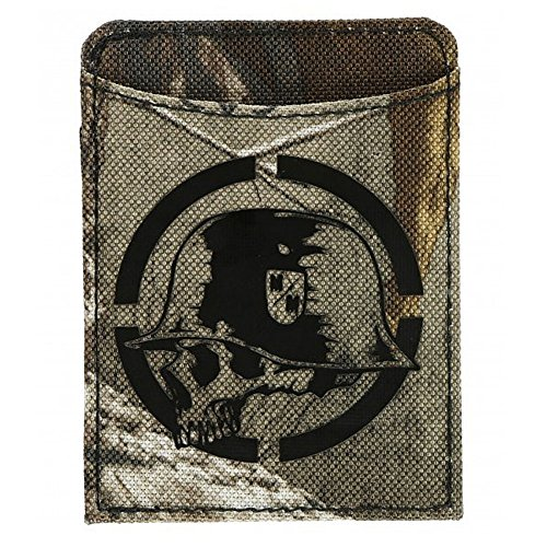 Metal Mulisha Men's Ammo Card Wallet Green One Size