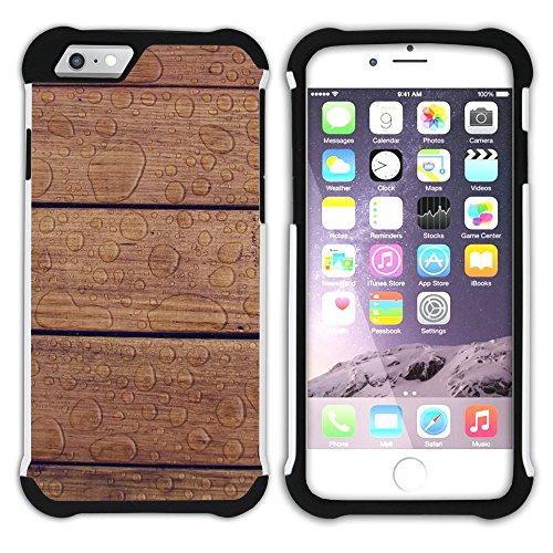 Graphic4You RED AND BLUE TRIBAL Muster Hart + Weiche Kratzfeste Hülle Case Schale Tasche Schutzhülle für Apple iPhone 6 Plus / 6S Plus Design #19