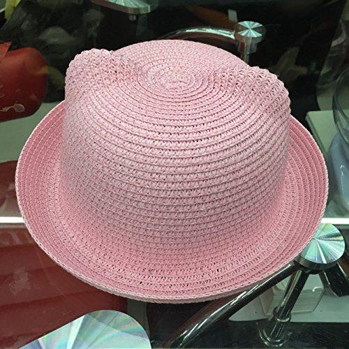 zhangyonglindo-verano-kids-sombrero-de-paja-sombrilla-arena-ninos-sombreros-sombrero-para-el-sol-chu