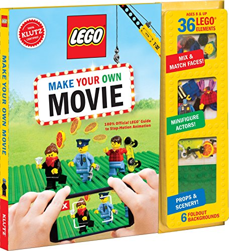 Klutz Lego Make Your Own Film Craft Kit, Mehrfarbig, 26.16 X 24.89 X 2,28 cm
