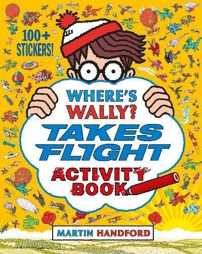 Where's Wally? : takes flight activity book