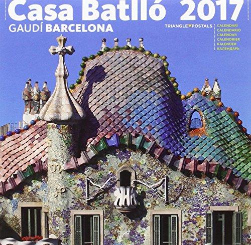 Calendari 2017 Casa Batlló petit por Aa.Vv.