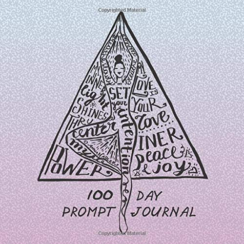 100 Day Prompt Journal: Write down your daily plans in this 100 day diary journal. It focuses on inner peace and presence in our daily lives.