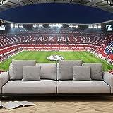 K&L Wall Art wall-art - Fototapete aus hochwertigem Vlies - FC Bayern Pack Mas - Fan-Choreo - Gesamtgröße: 336 x 260 cm (Breite x Höhe)