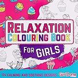 GirlZone: Libro da colorare per bambini - 114 disegni da colorare - Quaderno da colorare - Gioco creativo zen - Album da colorare per bambini - Libri da colorare - Regalo bambina