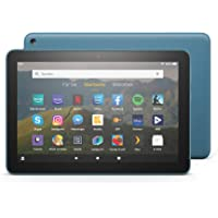 Fire HD 8-Tablet, 8-Zoll-HD-Display, 32 GB, Dunkelblau, Mit Werbung, für Unterhaltung unterwegs