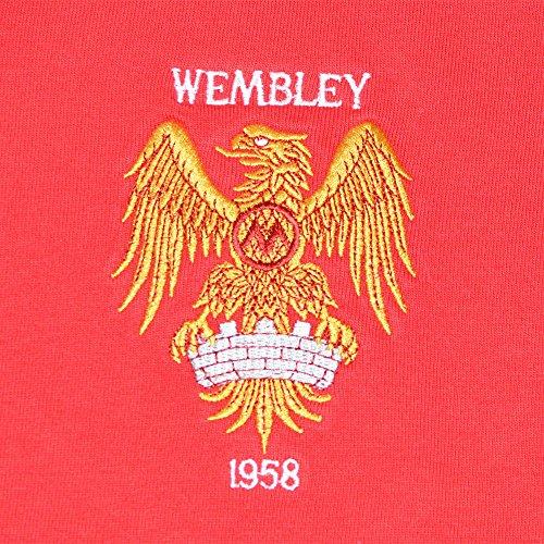 TOFFS Manchester United 1958 FA Cup Final Retro Football Shirt ... 58f757513