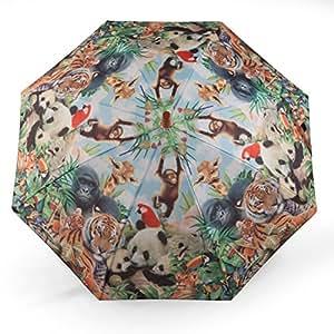 Parapluie enfant imprimé avec un motif d'animaux