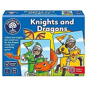 Orchard Toys 096 - Juego de Caballeros y Dragones