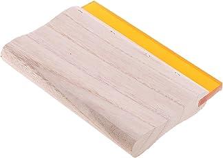 Segolike Silk Screen Printing Squeegee Rubber Wood Handle Ink Scraper 15cm-38cm