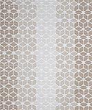 Badvorleger Aquamat Antirutsch Matte Bodenbelag, Bad Garten Küche, Mosaik Läufer hellbraun, Größe wählbar (100 x 65 cm)