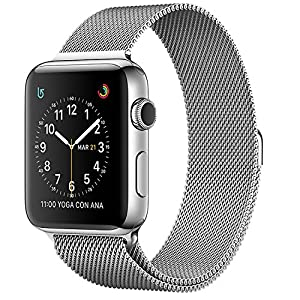 Apple - Watch Series 2 OLED 41.9g Acero Inoxidable mnp62ql/a