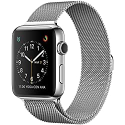 Apple - Watch Series 2 OLED 41.9g Acero Inoxidable mnp62ql/a