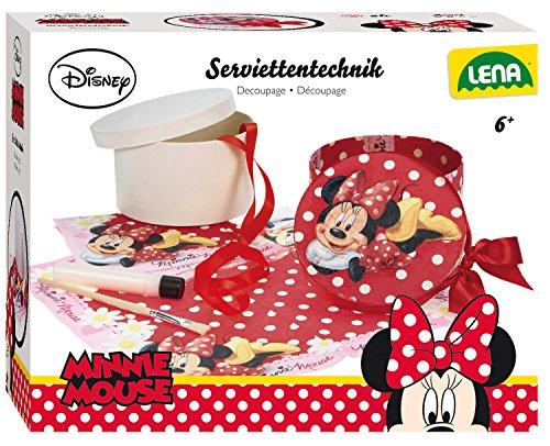 Lena 42582 - Serviettentechnik Disneys Minnie Maus -