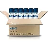 Kent Nettoyant Freins Lot de 6 Brake Parts Cleaner 2-750ml