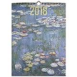 NOUVELLES IMAGES Calendrier Décoration 40 x 29,5 cm Monet 2018