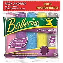 Ballerina Microfibras Collection - 5 Unidades