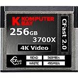 Komputerbay Professional 3700x 256GB CFast 2.0 Karte (Bis zu 560MB / s Lesen und bis zu 495 MB / s Schreiben)