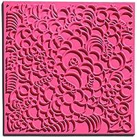 efco 9500511 Texturmatte, Naturkautschuk, 9 x 9 x 0,3 cm, braun