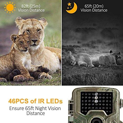 Zoom IMG-3 fotocamera caccia coolife 16mp 1080p